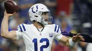 Colin Cowherd says Andrew Luck won't be great this year [Video]