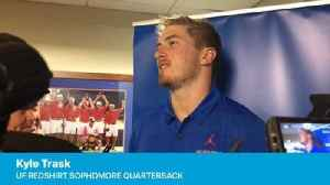 Kyle Trask on QB competition [Video]