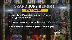 AG's Office Inundated With Abuse Allegation Calls Following Report's Release [Video]