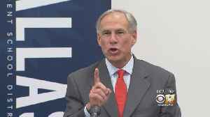 Gov. Abbott Says State Should Spend More On Public Schools [Video]