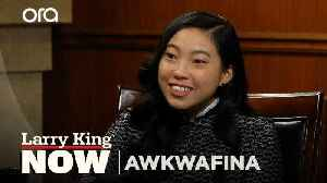 Awkwafina on her alternative career path -- and her real name [Video]