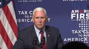 Pence Visit to Cleveland [Video]
