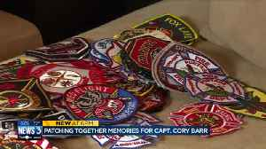 Patching up a community: Sun Prairie woman honors Capt. Cory Barr [Video]