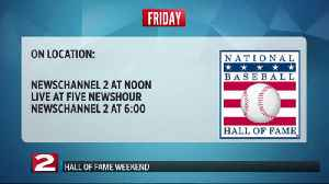 Baseball Hall of Fame Weekend Overview [Video]