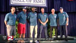 Baseball Hall of Fame Induction Saturday [Video]
