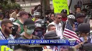 Anniversary of violent protests in Charlottesville [Video]