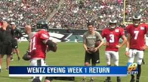 EAGLES TRAINING CAMP: Eagles injury updates [Video]