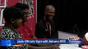 Kira Lewis officially signs with Alabama [Video]