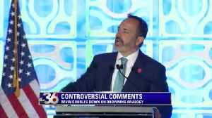 Bevin defends pension law in hard-hitting speech [Video]