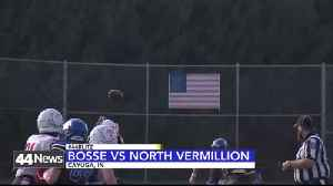 BOSSE FALLS TO NORTH VERMILLION [Video]