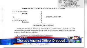 Charges against officer dropped [Video]