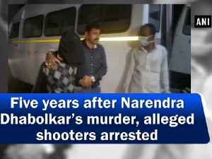 Five years after Narendra Dhabolkar's murder, alleged shooters arrested [Video]