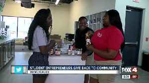Student entrepreneurs give back to community of Immokalee [Video]