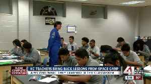 Teachers bring space camp into the classroom [Video]