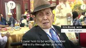 Korean families say tearful goodbyes after brief reunions [Video]