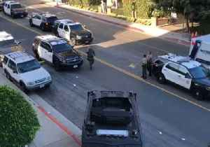 SWAT Team Surround West Hollywood Apartment After Standoff With Armed Man [Video]