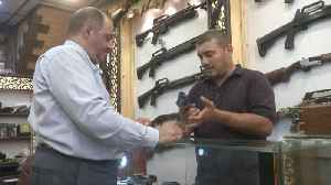 Baghdad gun shops thrive after Iraqi rethink on arms control [Video]
