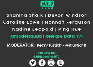Shanina Shaik, Devon Windsor, Caroline Lowe, Hannah Ferguson, Nadine Leopold & Ping Hue LIVE on BUILD Series [Video]