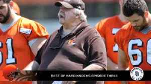 Browns offensive line coach Bob Wylie references WWII training to his team [Video]