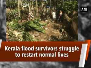 Kerala flood survivors struggle to restart normal lives [Video]