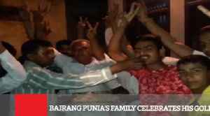 Bajrang Punia's Family Celebrates His Gold [Video]