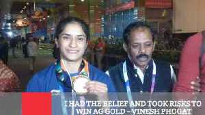 I Had The Belief And Took Risks To Win Ag Gold – Vinesh Phogat [Video]