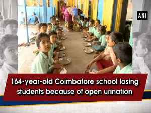 164-year-old Coimbatore school losing students because of open urination [Video]