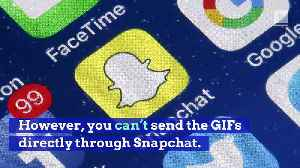 Snapchat Is Getting Musical GIFs [Video]