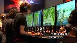Video games trade fair Gamescom opens in Germany [Video]
