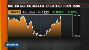 South Africa's Rand Slumps After Trump Tweets About Land Debate [Video]