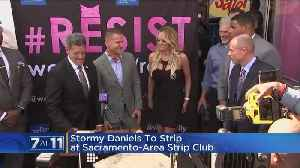 Stormy Daniels To Perform At Rancho Cordova Strip Club [Video]