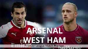 Match Preview: Arsenal vs. West Ham United [Video]