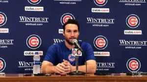 New Cub Daniel Murphy: 'Everybody should feel included in all aspects of life' [Video]