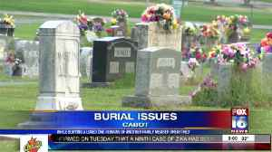 While Burying a Loved One Remains Of Another Unearthed [Video]