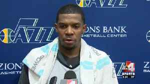 Joe Johnson brings experience to the Jazz [Video]