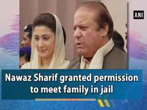 Nawaz Sharif granted permission to meet family in jail [Video]