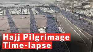 Incredible Time-lapse Of Hajj Pilgrimage [Video]