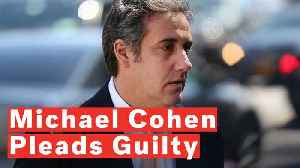 Former Trump Lawyer Michael Cohen Pleads Guilty In Deal With Prosecutors [Video]