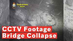 Police Release Footage Of The Moment Bridge Collapses In Italy [Video]