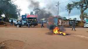 Jinja Protesters Set Fires Over Bobi Wine Arrest [Video]