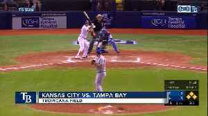 Tampa Bay Rays complete 4-game sweep by beating Royals on throwing error in 9th inning [Video]