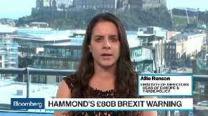 U.K.'s Hammond Warns No-Deal Brexit Holds Large Fiscal Consequences [Video]
