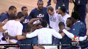 Jazz blow out Clippers in preseason game [Video]