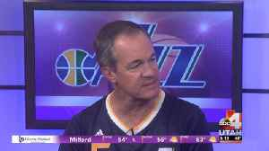 Utah Jazz Shooting Hoops for Troops [Video]
