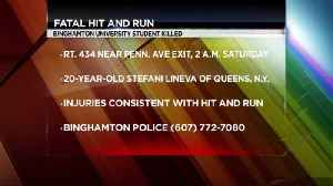 Binghamton Student Named in Fatal Hit and Run [Video]