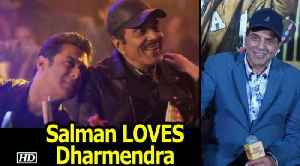 Salman LOVES Dharmendra | shares a CLOSE BOND | Rafta Rafta Medley [Video]