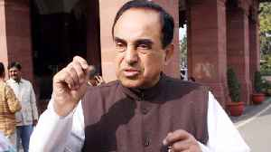 Subramanian Swamy records National Herald Case Statement before Court [Video]