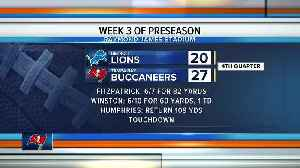 Detroit Lions rally from 21-point deficit to beat Tampa Bay Buccaneers 33-30 [Video]