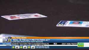 Mark Sanford Introduces Real ID Privacy Protection Act [Video]