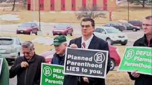 Planned Parenthood Protest 2,11,2017 [Video]